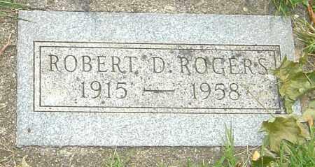 ROGERS, ROBERT D - Montgomery County, Ohio | ROBERT D ROGERS - Ohio Gravestone Photos