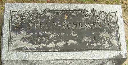 ROHRSSEN, OKEA - Montgomery County, Ohio | OKEA ROHRSSEN - Ohio Gravestone Photos