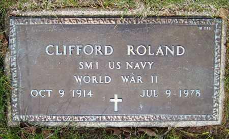 ROLAND, CLIFFORD - Montgomery County, Ohio | CLIFFORD ROLAND - Ohio Gravestone Photos