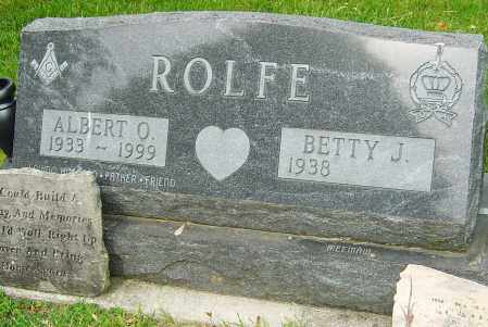 ROLFE, ALBERT O - Montgomery County, Ohio | ALBERT O ROLFE - Ohio Gravestone Photos