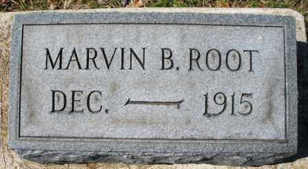 ROOT, MARVIN B. - Montgomery County, Ohio | MARVIN B. ROOT - Ohio Gravestone Photos