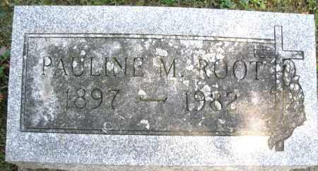 ROOT, PAULINE M. - Montgomery County, Ohio | PAULINE M. ROOT - Ohio Gravestone Photos