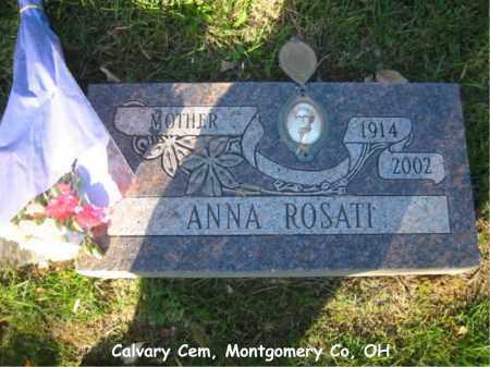 ROSATI, ANNA - Montgomery County, Ohio | ANNA ROSATI - Ohio Gravestone Photos
