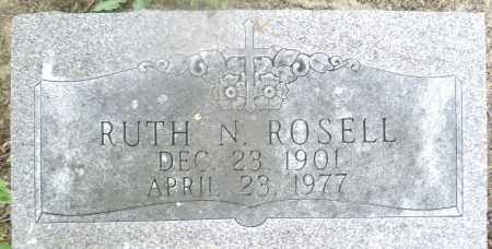 ROSELL, RUTH N. - Montgomery County, Ohio | RUTH N. ROSELL - Ohio Gravestone Photos