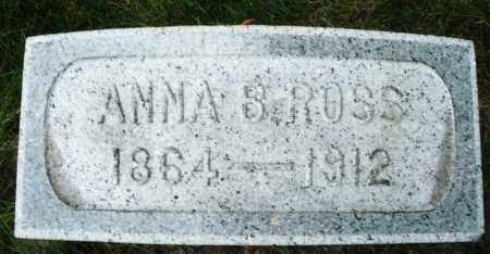 ROSS, ANNA B. - Montgomery County, Ohio | ANNA B. ROSS - Ohio Gravestone Photos
