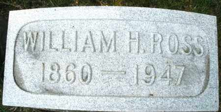 ROSS, WILLIAM H. - Montgomery County, Ohio | WILLIAM H. ROSS - Ohio Gravestone Photos
