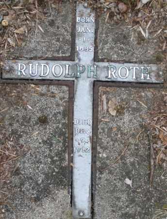 ROTH, RUDOLPH - Montgomery County, Ohio | RUDOLPH ROTH - Ohio Gravestone Photos