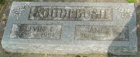 ROUDEBUSH, MELVIN THEODORE - Montgomery County, Ohio | MELVIN THEODORE ROUDEBUSH - Ohio Gravestone Photos