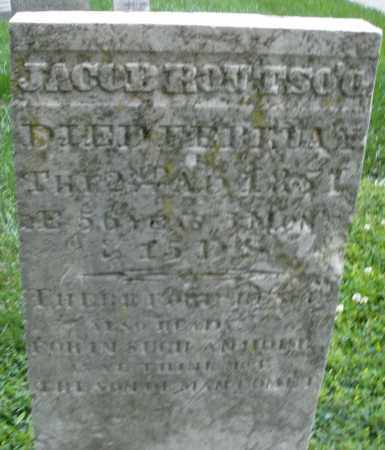 ROUTSON, JACOB - Montgomery County, Ohio | JACOB ROUTSON - Ohio Gravestone Photos