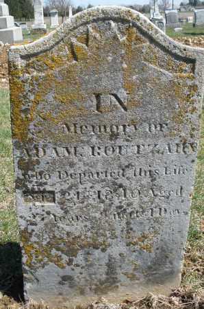 ROUTZAHN, ADAM - Montgomery County, Ohio | ADAM ROUTZAHN - Ohio Gravestone Photos