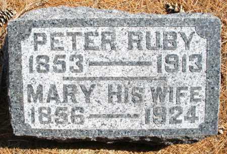 RUBY, MARY - Montgomery County, Ohio | MARY RUBY - Ohio Gravestone Photos