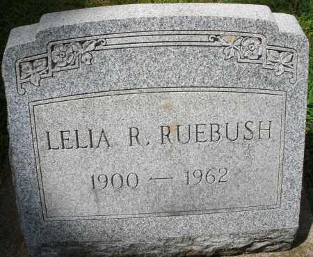 RUEBUSH, LELIA R. - Montgomery County, Ohio | LELIA R. RUEBUSH - Ohio Gravestone Photos