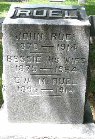 RUEL, EVA M. - Montgomery County, Ohio | EVA M. RUEL - Ohio Gravestone Photos