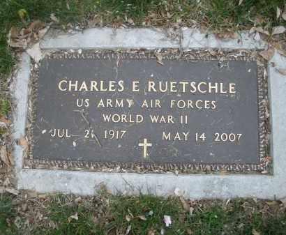 RUETSCHLE, CHARLES  E. - Montgomery County, Ohio | CHARLES  E. RUETSCHLE - Ohio Gravestone Photos
