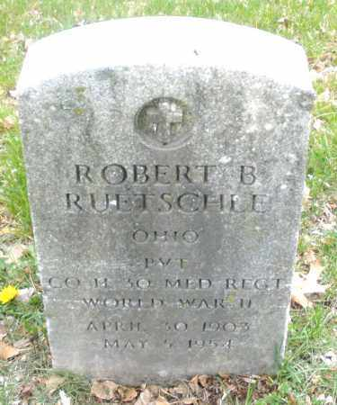 RUETSCHLE, ROBERT  B. - Montgomery County, Ohio | ROBERT  B. RUETSCHLE - Ohio Gravestone Photos