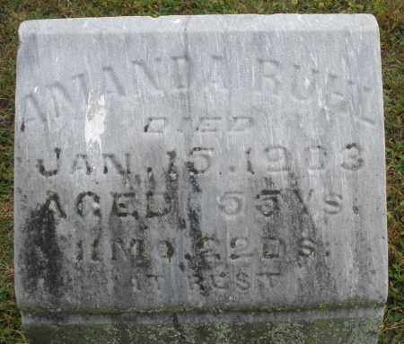 RUHL, AMANDA - Montgomery County, Ohio | AMANDA RUHL - Ohio Gravestone Photos