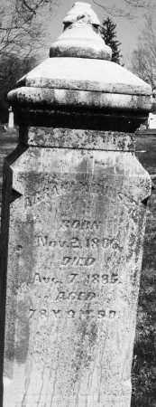 RUNSHE, ABRAHAM - Montgomery County, Ohio | ABRAHAM RUNSHE - Ohio Gravestone Photos