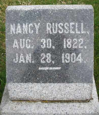 RUSSELL, NANCY - Montgomery County, Ohio | NANCY RUSSELL - Ohio Gravestone Photos