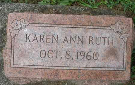 RUTH, KAREN ANN - Montgomery County, Ohio | KAREN ANN RUTH - Ohio Gravestone Photos