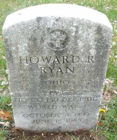 RYAN, HOWARD R. - Montgomery County, Ohio | HOWARD R. RYAN - Ohio Gravestone Photos