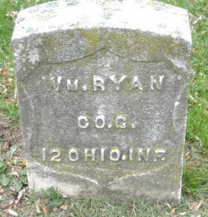 RYAN, WILLIAM - Montgomery County, Ohio | WILLIAM RYAN - Ohio Gravestone Photos