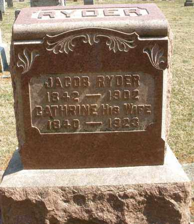 RYDER, CATHRINE - Montgomery County, Ohio | CATHRINE RYDER - Ohio Gravestone Photos