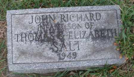 SALT, JOHN RICHARD - Montgomery County, Ohio | JOHN RICHARD SALT - Ohio Gravestone Photos