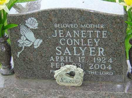 SALYER, JEANETTE - Montgomery County, Ohio | JEANETTE SALYER - Ohio Gravestone Photos