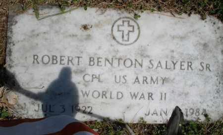 SALYER, ROBERT BENTON JR. - Montgomery County, Ohio | ROBERT BENTON JR. SALYER - Ohio Gravestone Photos