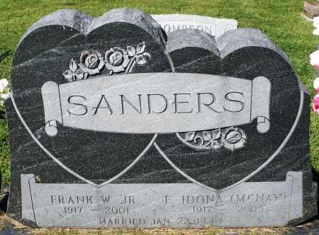 SANDERS, E. IDONA - Montgomery County, Ohio | E. IDONA SANDERS - Ohio Gravestone Photos