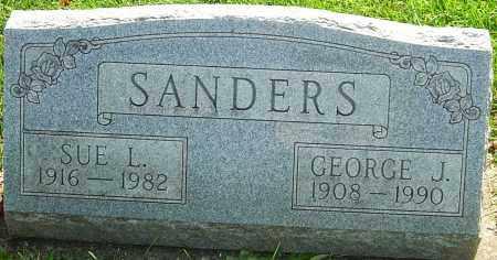 SANDERS, GEORGE J - Montgomery County, Ohio | GEORGE J SANDERS - Ohio Gravestone Photos