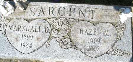 SARGENT, HAZEL M. - Montgomery County, Ohio | HAZEL M. SARGENT - Ohio Gravestone Photos