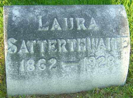 WELLER SATTERTHWAITE, LAURA - Montgomery County, Ohio | LAURA WELLER SATTERTHWAITE - Ohio Gravestone Photos