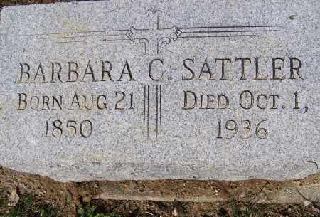 SATTLER, BARBARA C. - Montgomery County, Ohio | BARBARA C. SATTLER - Ohio Gravestone Photos