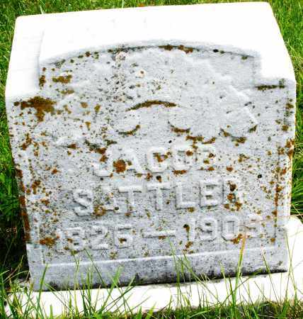 SATTLER, JACOB - Montgomery County, Ohio | JACOB SATTLER - Ohio Gravestone Photos