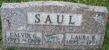 SAUL, CALVIN G. - Montgomery County, Ohio | CALVIN G. SAUL - Ohio Gravestone Photos
