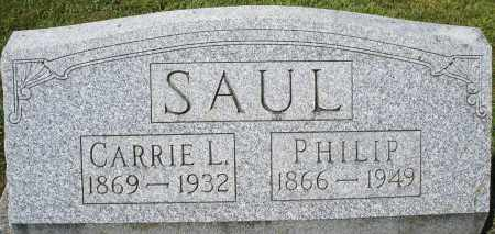 SAUL, PHILIP - Montgomery County, Ohio | PHILIP SAUL - Ohio Gravestone Photos
