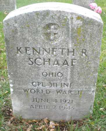 SCHAAF, KENNETH R. - Montgomery County, Ohio | KENNETH R. SCHAAF - Ohio Gravestone Photos