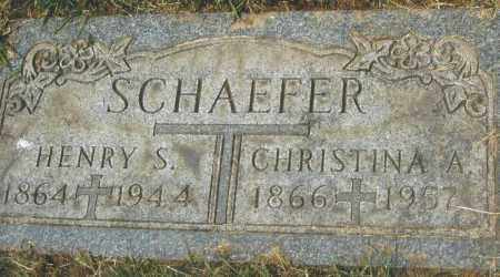 SCHAEFER, CHRISTINA A. - Montgomery County, Ohio | CHRISTINA A. SCHAEFER - Ohio Gravestone Photos