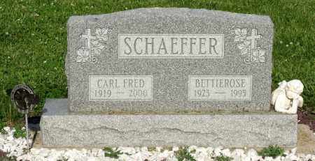 SCHAEFFER, CARL FRED - Montgomery County, Ohio | CARL FRED SCHAEFFER - Ohio Gravestone Photos
