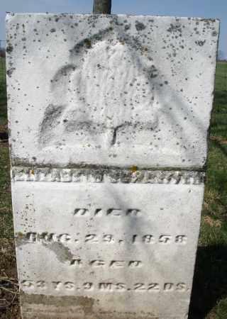 SCHAEFFER, ELIZABETH - Montgomery County, Ohio | ELIZABETH SCHAEFFER - Ohio Gravestone Photos