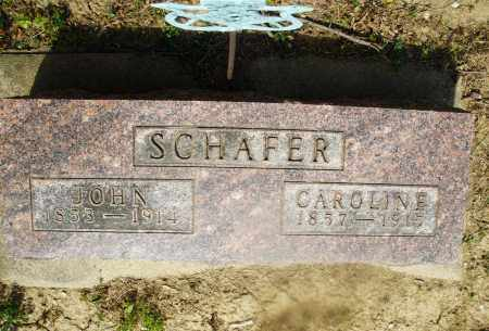 SCHAFER, JOHN - Montgomery County, Ohio | JOHN SCHAFER - Ohio Gravestone Photos