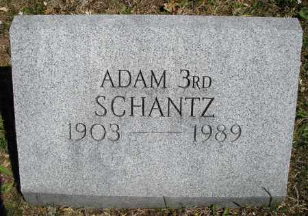 SCHANTZ, ADAM 3RD - Montgomery County, Ohio | ADAM 3RD SCHANTZ - Ohio Gravestone Photos