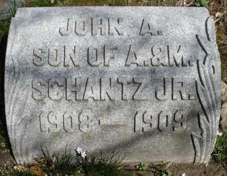 SCHANTZ, JOHN A. - Montgomery County, Ohio | JOHN A. SCHANTZ - Ohio Gravestone Photos