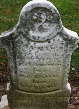 SCHAURER, ANNIE - Montgomery County, Ohio | ANNIE SCHAURER - Ohio Gravestone Photos