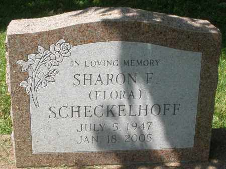 SCHECKELHOFF, SHARON F. - Montgomery County, Ohio | SHARON F. SCHECKELHOFF - Ohio Gravestone Photos