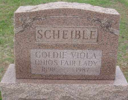 SCHEIBLE, GOLDIE VIOLA - Montgomery County, Ohio | GOLDIE VIOLA SCHEIBLE - Ohio Gravestone Photos
