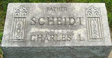 SCHEIDT, CHARLES L - Montgomery County, Ohio | CHARLES L SCHEIDT - Ohio Gravestone Photos