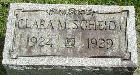 SCHEIDT, CLARA M - Montgomery County, Ohio | CLARA M SCHEIDT - Ohio Gravestone Photos
