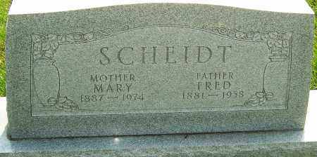 SCHEIDT, MARY - Montgomery County, Ohio | MARY SCHEIDT - Ohio Gravestone Photos